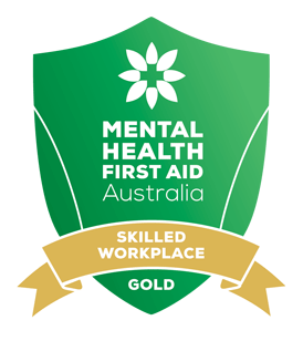 Mental Health First Aid Australia - Gold Skilled Workplace